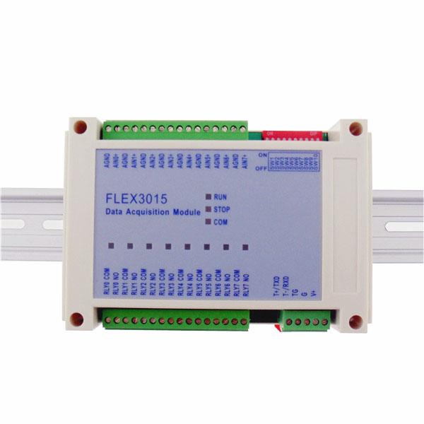 FLEX3015-8通道热敏电阻采集模块,RS485接口,Modbus协议