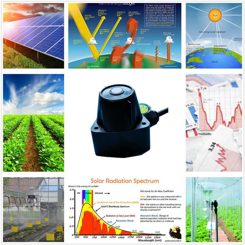 PYR20-太阳辐射总辐射传感器,RS485,Modbus